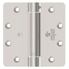 Hager Satin Chrome Door Hinge 1250 4X4 26D