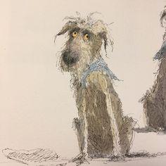 Happy International Dog Day. #internationaldogday #tobyandhisredball #dog#dogart #inkandwarercolor #artistsketchbook #Regram via @CEY4tSKnNOz Artist Sketchbook, Sketchbook Pages, International Dog Day, Dog Art, Happy, Dogs, Beautiful, Instagram, Ser Feliz