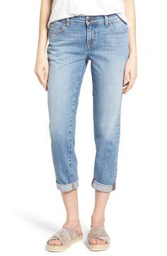 Main Image - Eileen Fisher Organic Cotton Boyfriend Jeans (Online Only) (Regular & Petite)