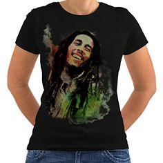 420 Rasta Bob Marley Women Long Sleeve T-shirt NEWWellcoda