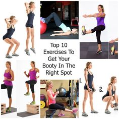 Top 10 Exercises To Get Your Booty In The Right Spot fb