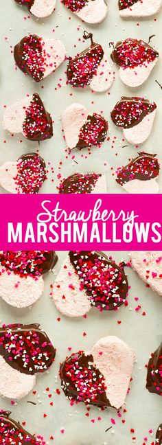 homemade strawberry marshmallows these homemade strawberry ...