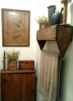 Toolbox Towel Bar