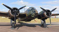 The newly restored Bristol Blenheim Mk.I performed a Battle of Britain tribute at Royal International Air Tattoo 2015, at RAF Fairford.