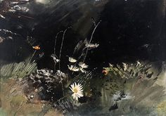 Andrew Wyeth - 'Field Flowers' 1959 WC