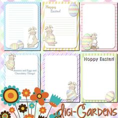Digi-Gardens Easter Set Freebie