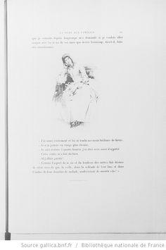 [Illustrations de La Dame aux camélias] / Albert Lynch, dess. ; Augustin Massé, Champollion, Gaujean, grav. ; Alexandre Dumas fils, aut. du texte - 40.  Marguerite Gautier songeuse et languissante.