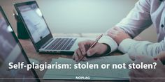 The idea of self-plagiarism, at the first sight, seems to be pointless - am I actually #plagiarizing when I'm just re-using my own work? But in fact, it is not so easy. Why so? Read more. #selfplagiarism #plagiarism