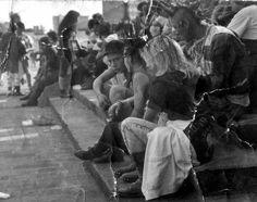 """Punks en """"el Chopo"""" , México DF años ¿90's?"""