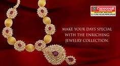 """Make your days special with the enriching jewellery collection."""