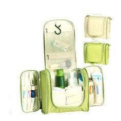 Deluxe Large Hanging Travel Cosmetic Makeup Toiletry Organiser Wash Bag-Cream: Amazon.co.uk: Beauty