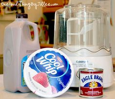 """Homemade """"Wendy's Frosty"""" 