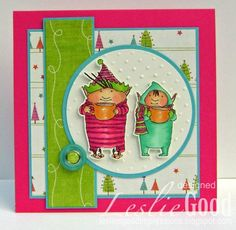 Buddy and Jolly - NEW release from Stampingbella!