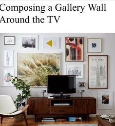Gallery wall example