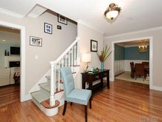 1000 images about stairway ideas on pinterest stairs for Center hall colonial living room ideas
