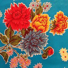 Oilcloth tablecloth / blue from À LA MODE MONTRÉAL