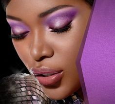 maquillaje violeta - Buscar con Google