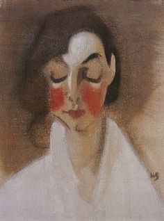 It's About Time: Woman Artist - Helene Schjerfbeck Rosy-Cheeked Girl, 1927 Helene Schjerfbeck, Female Painters, Woman Painting, Painting Art, Figurative Art, Love Art, Female Art, Illustration Art, Sketches