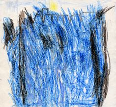 Michael McClelland, aged 5, was also commended for his drawing of Narrow Water Castle