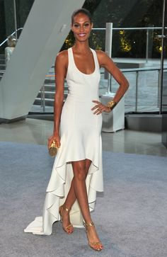 Joy Bryant at the cfda awards.  Her look is so understated, laid back and pretty.