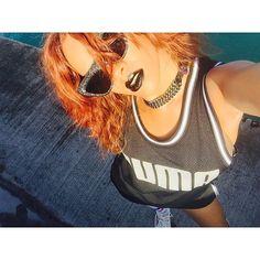 Black lips.