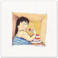 Enjoy by Moitao. #dickefrau #kunst #malerei #rubensfrau | http://www.kunst-in-bildern.de/bildergalerie/enjoy