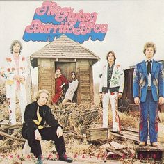The Best Country Album Cover Artwork: 6. The Flying Burrito Brothers - Gilded Palace of Sin