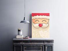"""Placa decorativa """"Papai Noel""""  Temos quadros com moldura e vidro protetor e placas decorativas em MDF.  Visite nossa loja e conheça nossos diversos modelos.  Loja virtual: www.arteemposter.com.br  Facebook: fb.com/arteemposter  Instagram: instagram.com/rogergon1975  #placa #adesivo #poster #quadro #vidro #parede #moldura"""