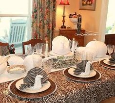 DIY Interesting And Useful Ideas For Your Home: Turkey Napkin Fold DIY