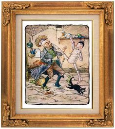 Pinocchio With Geppetto Sheet Music Art Giclee by ExtraordinaryArt