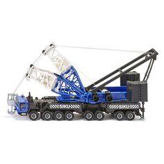 Siku 4810 1:55 heavy mobile crane 16 wheeler.