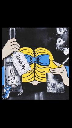 Alice in Wonderland, Mad Hatter Tequila Drink me Punk Disney, Arte Disney, Disney Art, Hanna E Barbera, Disney Gone Bad, Bad Trip, Princesse Disney Swag, Go Ask Alice, Alice Madness