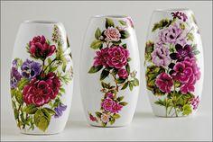 artesanato com garrafas de vidro - Pesquisa Google