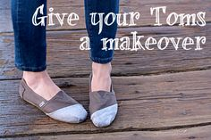 Toms Shoes Makeover