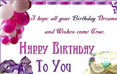 Happy Birthday Message Wishes are birthday greeting messages that you can share with your friends and family. You can send these wishes for happy birthday to greet anyone on their birthday. There are many ways to greet someone on happy birthday.