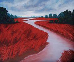 Jamee Linton - Disposition x Art Museum, Portland, Original Paintings, Country Roads, Fine Art, Visual Arts