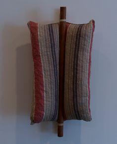 Pillow with Wooden stick - Pillows 1962-63 by Stephen Antonakos - Nalata Nalata