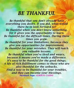 being thankful quotes and sayings   Being Thankful :-)