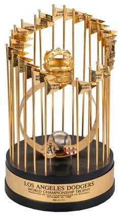 Dodgers Blue Heaven: Some Dodgers Memorabilia at Goldin Auctions - A 1988 World Series Trophy 1988 World Series, Sandy Koufax, Dodger Blue, Dodgers Baseball, Sporting Live, Mlb Teams, Go Blue, Los Angeles Dodgers, Auction