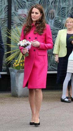 Kate Middleton faz sua última aparição pública antes da chegada do novo bebê real