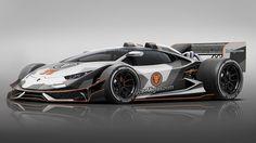Lamborghini Huracan F1 car