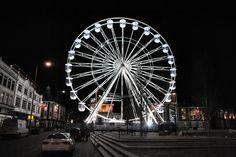 Leicester, Ferris Wheel, Fair Grounds, England, City, Travel, Viajes, Cities, Destinations