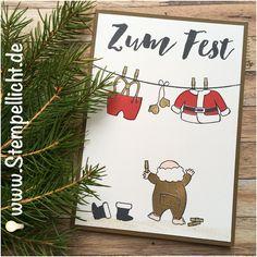 Stempellicht: Weihnachtskarten mit Santa´s Suite