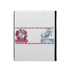 Virgo Cancer friendship designs by Valxart iPad Folio Cases
