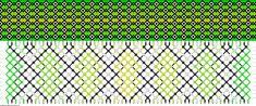 Muster # 54976, Streicher: 62 Zeilen: 14 Farben: 6