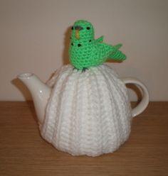Green Budgie Tea Cosy