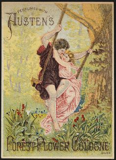Perfumed with Austen's Forest Flower Cologne [front] | Flickr - Photo Sharing!