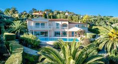 Can You See Yourself Living in this Glamorous Villa with Infinity Pool and Glorious Views Over the Gulf of Saint-Tropez? Sainte Maxime Villa with landscaped gardens, near the beach and all amenities. #SaintTropezViews #SundayMotivation #LuxuryVilla #SainteMaxime #FrenchRiviera #France #SeaViews #luxuryhomes #BowlingAlley #LandscapedGardens #homedecor #InfinityPool #interiordesign Automatic Watering System, Luxury Property For Sale, Barbecue Area, Summer Kitchen, Spacious Living Room, Living Room With Fireplace, Saint Tropez, Exterior Lighting, French Riviera