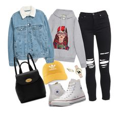 """🤘"" by mirka-smalova on Polyvore featuring AMIRI, adidas, Gucci, Converse, Mulberry and La Kaiser"