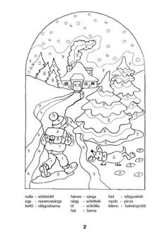 Színező 10-ig - kisferenc.qwqw.hu 1st Grade Math, Snoopy, Classroom, Kids Rugs, Fictional Characters, Color, Number, Pdf, Places